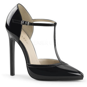 """Shoes - 5"""" High Heel T-Strap Pointed Toe Stiletto Shoes"""
